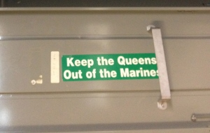 Keep the Queens Out of the Marines