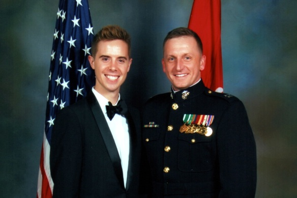 Our first USMC Birthday Ball together, 2012.