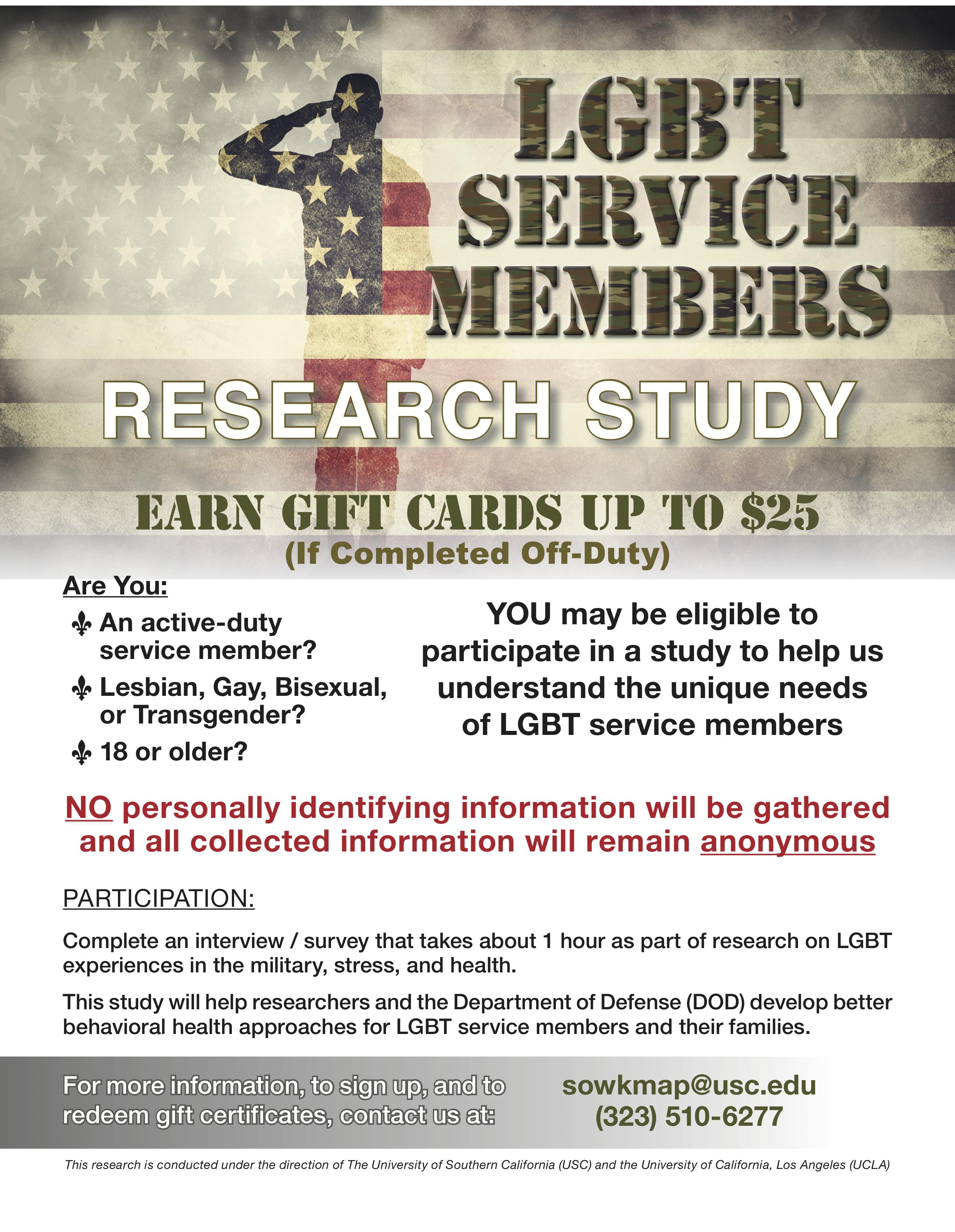 LGBT Service Members